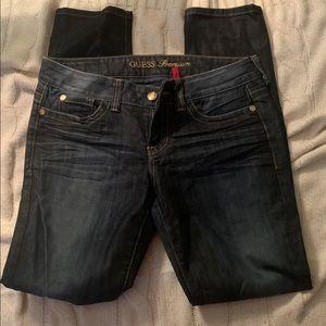 Guess Premium skinny daredevil jeans 31